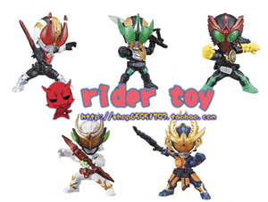ACTION CHIBI KAMEN RIDER GAIM SET 2