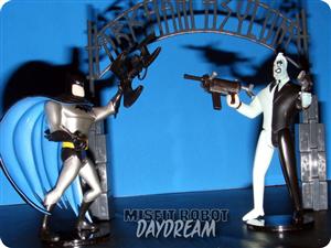 BATMAN VS HARVEY ARKHAM ASYLUM SET