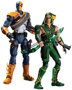 DC COLLECTIBLES GREEN ARROW VS DEADSTROKER