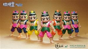 7 ANH EM HỒ LÔ SHANGHAI STUDIO CALABASH BROTHERS SET