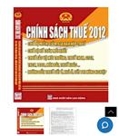 Chính sách thuế 2012 song ngữ Việt Anh