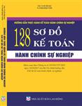 Hướng dẫn thực hành kế toán hành chính sự nghiệp - 128 sơ đồ