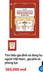 Tìm hiểu gia đình và dòng họ người Việt,  gia phả
