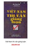 Việt Nam Thi Văn Giảng Luận