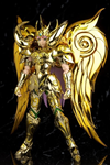 EX SAINT SEIYA GOD CLOTH GOLD SAINT MU ARIES LIKE NEW