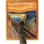 FIGMA SP-086 THE TABLE MUSEUM: THE SCREAM