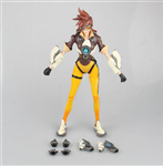 PLAY ARTS KAI OVERWATCH TRACER FAKE