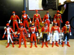 HERO SERIES SENTAI RED SET 6