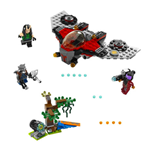 LEGO SUPER HEROES GUARDIANS OF THE GALAXY RAVAGER ATTACK