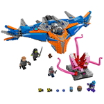 LEGO SUPER HEROES GUARDIANS OF THE THE MILANO VS ABILISK