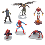 MARVEL SPIDER MAN HOMECOMING FIGURINE SET