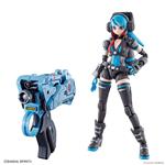 MODEL KIT ATTACK GIRL GUN X LADY COMMANDER ALICE SET BOX