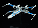 MODEL KIT STAR WARS BLUE SQUADRON RESISTANCE X WING FIGHTER