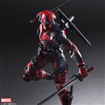 PLAY ARTS KAI DEADPOOL KO BOX CÓ VỈ