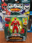 RED WILD FORCE POWER RANGER DUAL ACTION