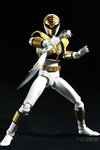 SHF MIGHTY MORPHIN WHITE RANGER 2ND (THIẾU)