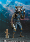 SHF ROCKET & GROOT GUARDIANS OF THE GALAXY