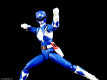 SHF TRICERA BLUE RANGER 2ND