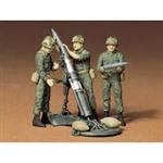 TAMIYA 1/35 U.S.107mm MORTAR & CREW