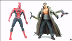 TOYBIZ POSEABLE ACTION FIGURE SPIDER MAN AND DOC OCK