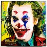TRANH KHUNG GỖ DC JOKER