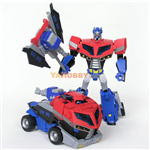 TRANSFORMER ANIMATED VOYAGER OPTIMUS PRIME EARTH MODE