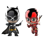 [KÍ GỬI] COSBABY BATMAN TATICAL & THE FLASH METALLIC SET