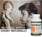 CountBoost tăng số lượng tinh trùng