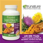 Hỗ trợ chức năng gan trunature ® Liver Health Complex