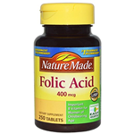 Nature Made – Folic Acid 600mcg + DHA